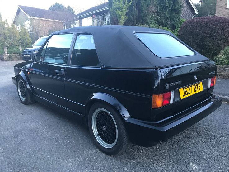 Volkswagen Golf 1.8 GTI Sportline Mk1 Convertible 1992 in Cars, Motorcycles & Vehicles, Cars, Volkswagen | eBay