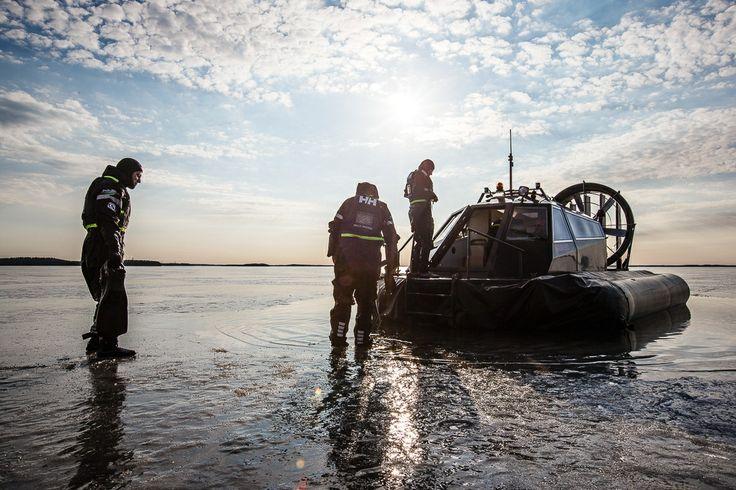 Hover craft tours (Lappeenranta & Imatra region) Picture by: goSaimaa.com/Mikko Nikkinen