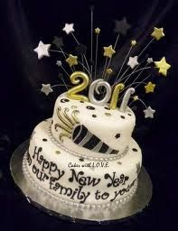Check out these New Years cakes