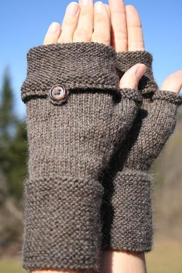 Oxford Mitts - Knitting Patterns and Crochet Patterns from KnitPicks.com
