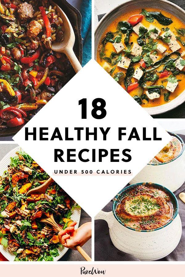 32 Healthy Fall Recipes Under 500 Calories That Still Taste Delish Fall Recipes Healthy Healthy Fall Recipes Dinner Fall Recipes