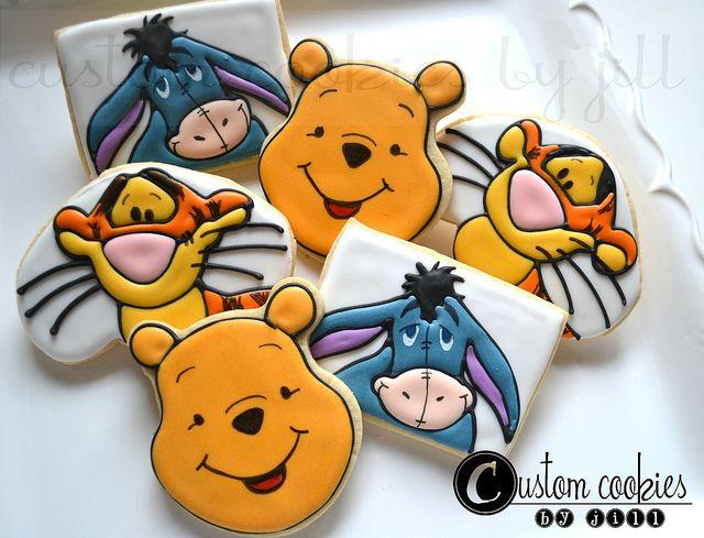 Winnie the Pooh Cookies (Custom Cookies by Jill)