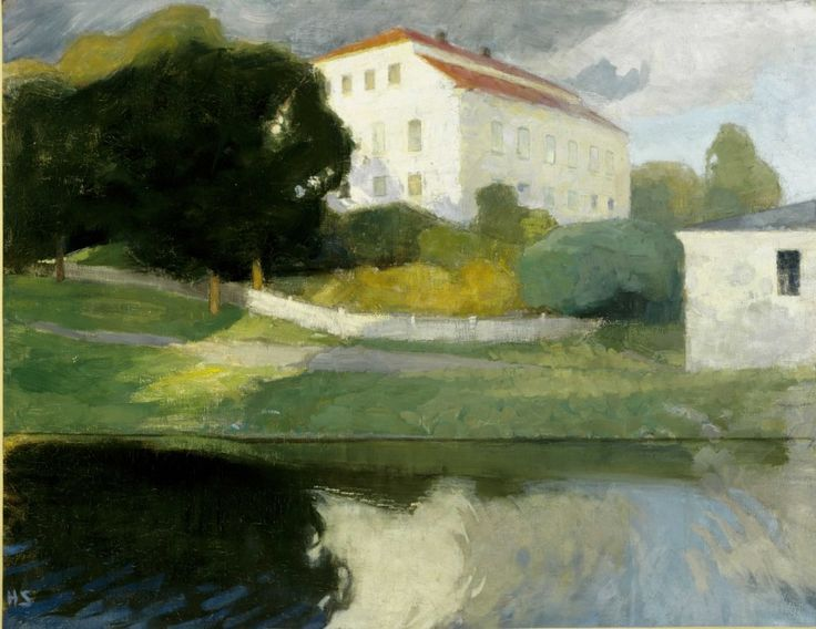 Helene Schjerfbeck (1861–1946): The Old Manor Siuntio, 1901