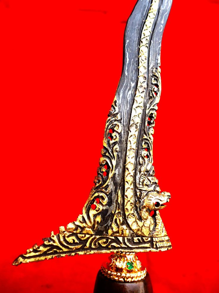 Keris Naga Raja Kinatah Emas Mahar Terjangkau