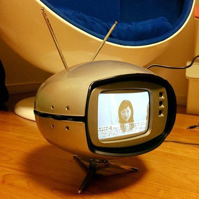 Toseさんの、UFO TV,TR-603A,ミッドセンチュリーモダン,ミッドセンチュリー,スペースエイジ,リビング,のお部屋写真