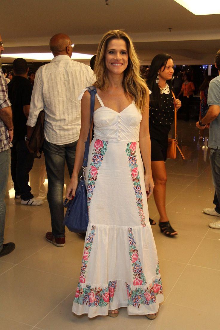 Foto 5 - Ingrid Guimarães - Anderson Borde - moda - look branco