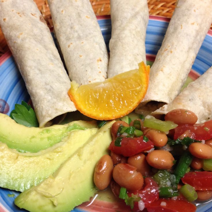 Citrusy Black Bean Taquitos: Forks Over Knives Cookbook Project  | Fresh and Faithful #vegan
