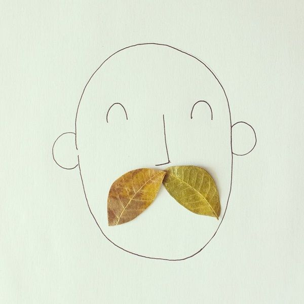 Playful Doodles that Incorporate Everyday Objects_Javier Pérez is an artist and illustrator from Guayaquil, Ecuador. Each doodle incorporates everyday objects like paper clips, coins and scissors. The doodles transform the objects into something completely new and different.