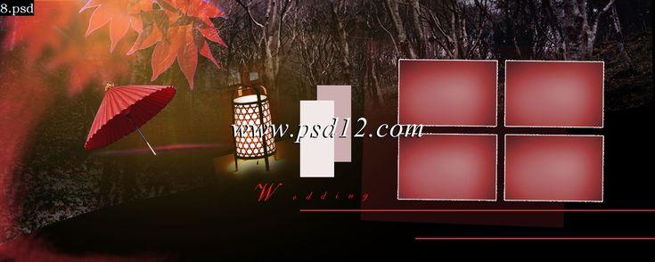 Photoshop Backgrounds: 48 Page Karizma Album Design - 20