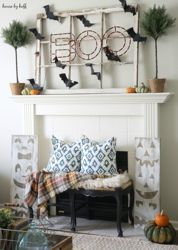 Halloween Mantel 2016 - House by Hoff Holidays and Events