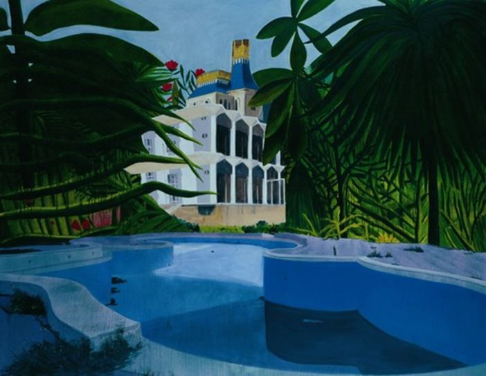 Dexter Dalwood Versailles in the Jungle 2003