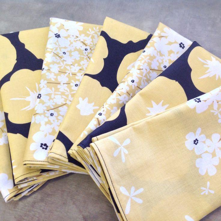 diy fat quarter cloth napkins