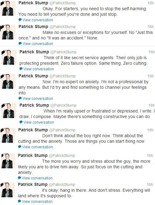 Patrick Stump... I love you so much.