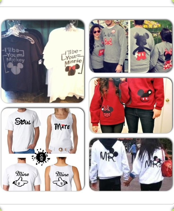 Disney Couple Shirts