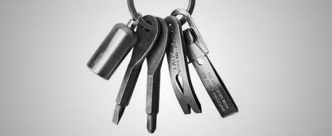 Neem je gereedschap mee aan je sleutelbos