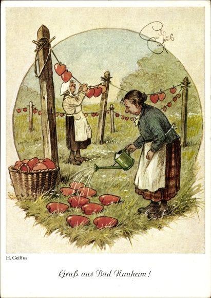 Artist Postcard Geilfus