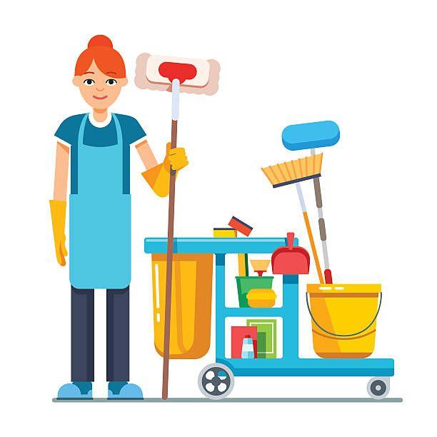 A Clean School Is A Happy School Personal De Limpieza Negocio