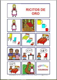 Informática para Educación Especial: Tableros de comunicación aumentativa sobre cuentos populares infantiles.