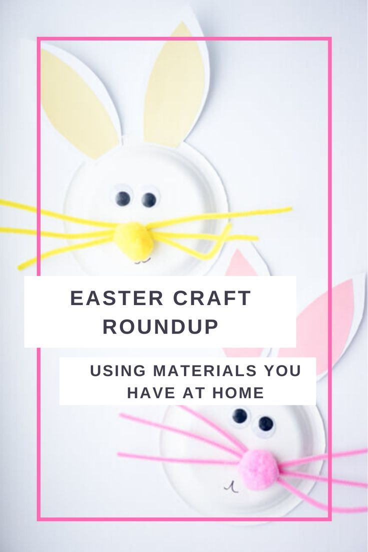5 Easter Crafts With Items You Have At Home Easter Crafts Easy Easter Crafts Crafts For Kids