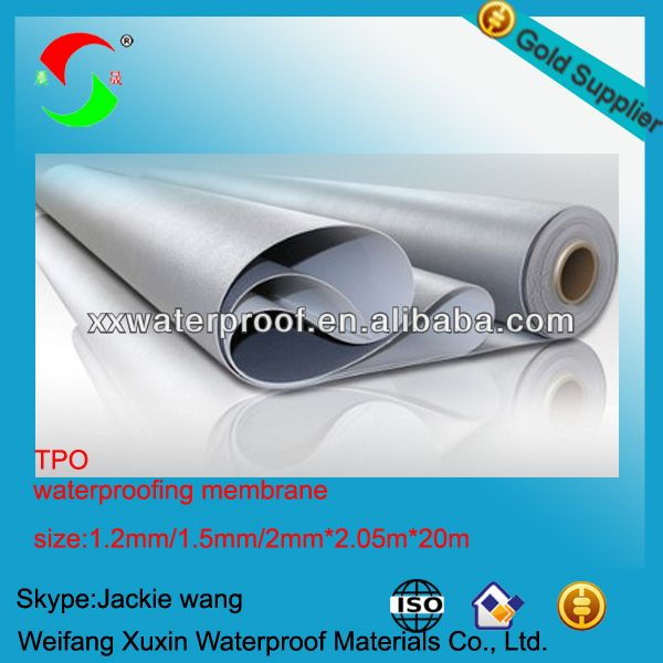 What Is 2mm Best Price Best Quality Tpo Roofing Material   Buy What Is Tpo  Roofing,What Is A Tpo Roof,Tpo Roofing Material Product On Alibaba.com