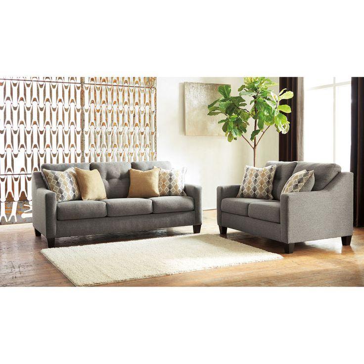 Ashley Furniture In Fresno Ca: Genova Graphite Sofa In 2019