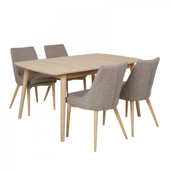 spisebord m/4 stoler - MARTINSEN AS - Nordli - Møbelringen