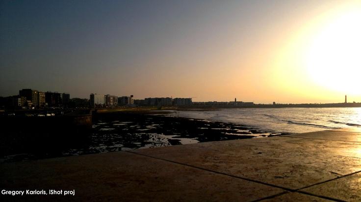 Casablanca and Ocean....by Gregory Karioris