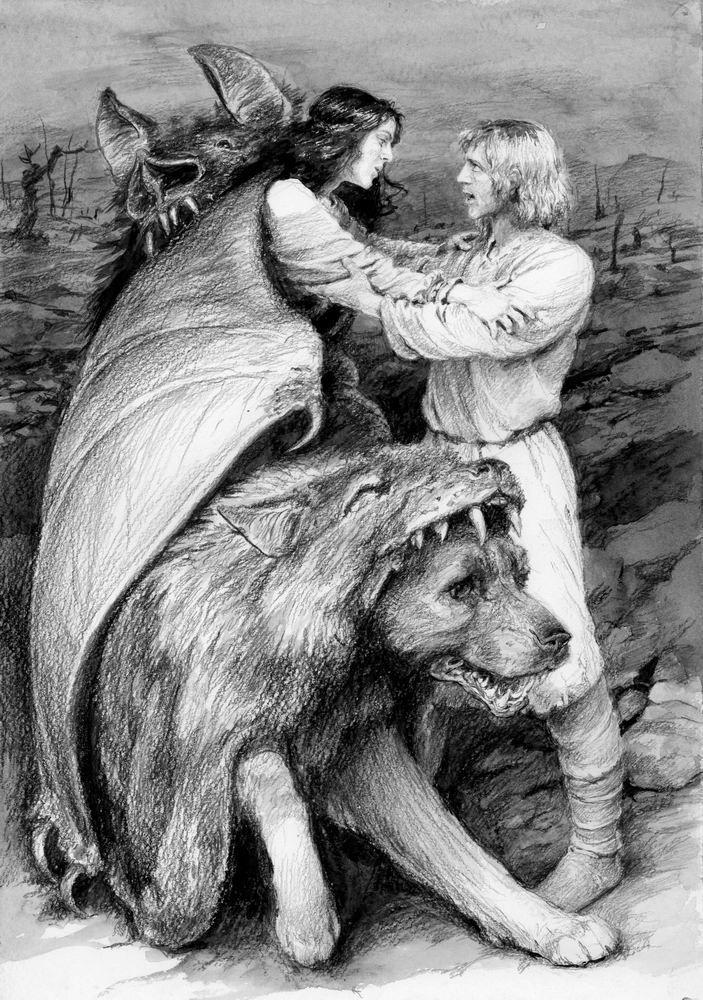 LUTHIEN AND BEREN BY DENIS GORDEEV