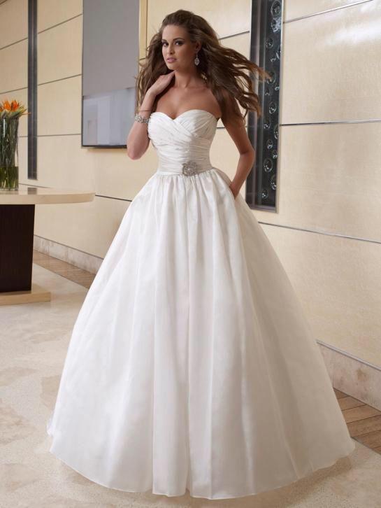 2 in 1 stijlen trouwjurk afneembare rok budget bruidsjurk