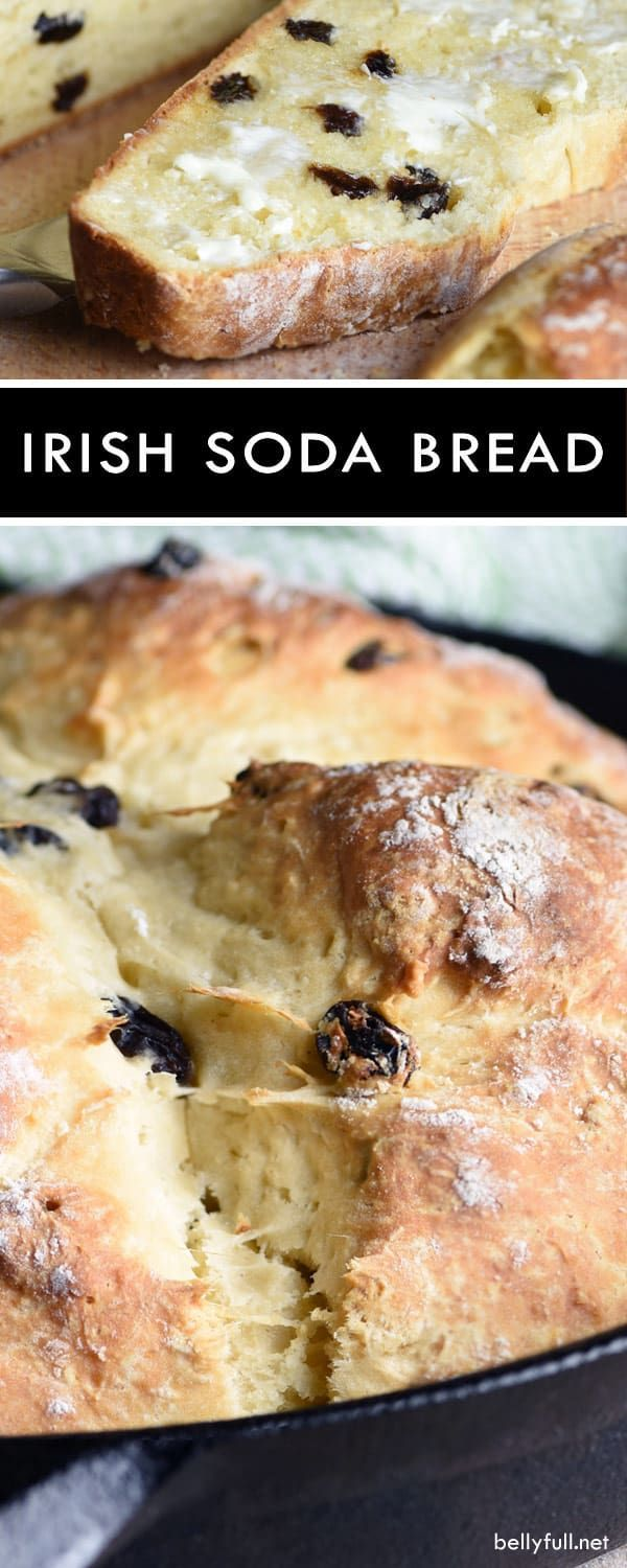 This Irish Soda Bread recipe could not be easier or more delicious. No-knead, no rising, no waiting. Amazing warm from the oven on its own or with a slab of butter!