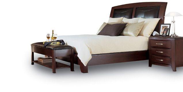 bedroom expressions rodea king platform bed ba plrdpk