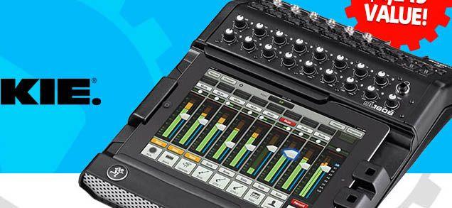 GearNuts Mackie DL1608 Digital Mixer Giveaway