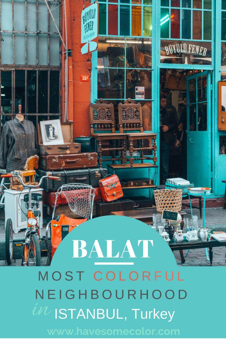 Explore Balat – Istanbul's most colorful neighbourhood
