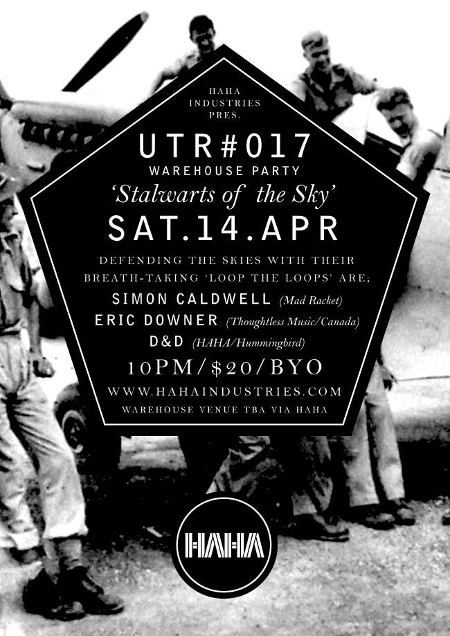 UTR #017 with D, Simon Caldwell & Eric Downer