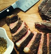 Orange-and-Cumin-Rubbed Grilled Porterhouse Steaks