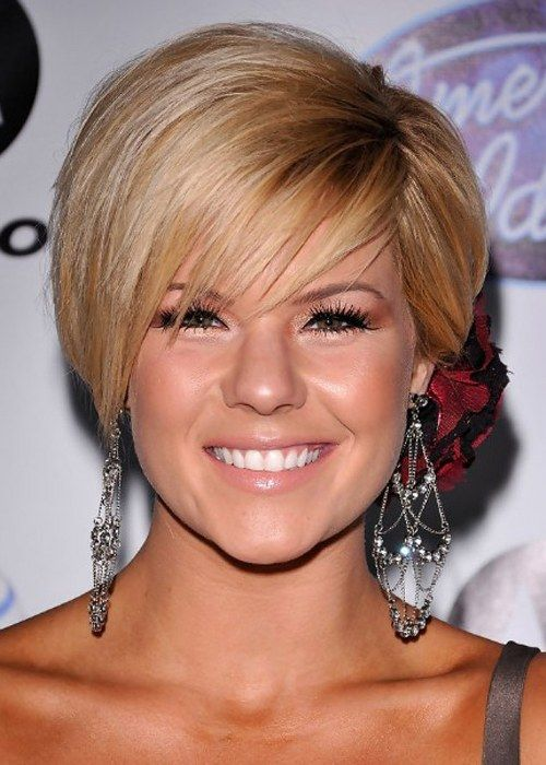 5 bob hairstyles for round faces (7) – HairzStyle.Com…