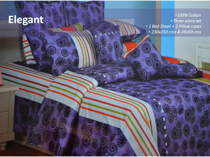 100 Cotton Bed Sheet This Double Bedsheet Set Blends With Your Home Decor And 214