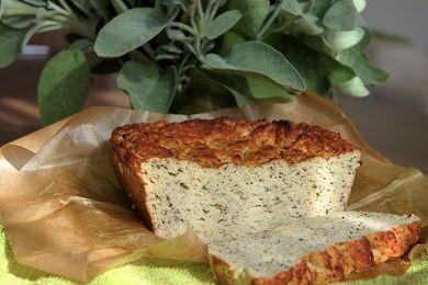 Nízkosacharidový cuketový chléb /Low-carb zucchini bread/ Zdravé, nízkosacharidové, bezlepkové recepty. (Healthy, low carb, gluten free recipes.)