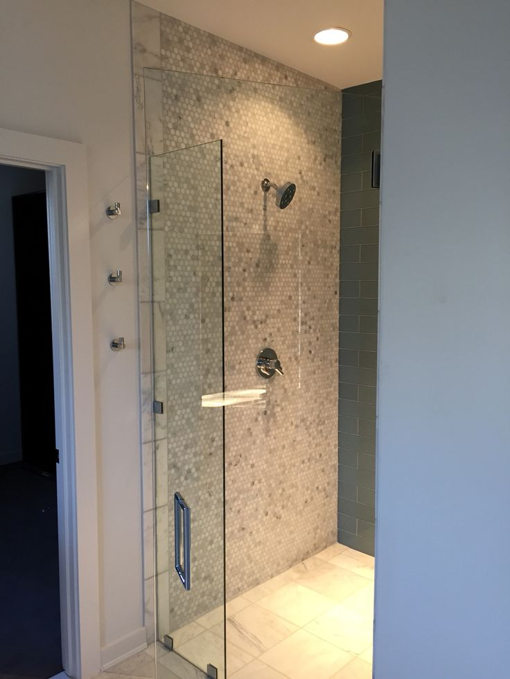 Zero Entry Shower Modern Bathrooms Interior Bathroom