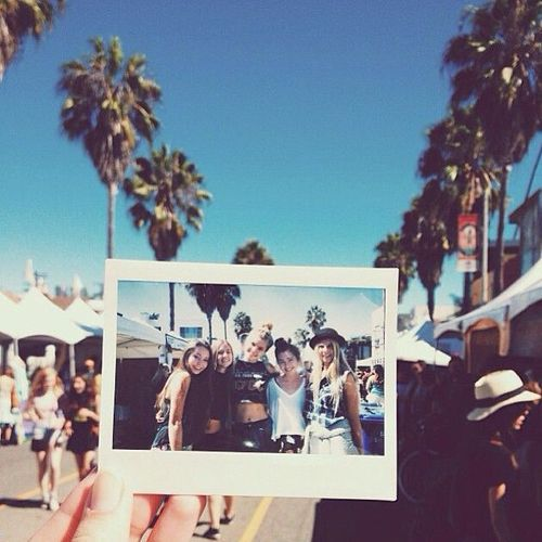 polaroid action... gift idea. yes please. The land polaroid camera, just in case you see this Luke (: