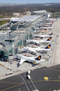 TERMINAL 2   FRANKFURT AIRPORT   FRANKFURT   GERMANY: *FRA; 2 Passenger Terminals; 4 Runways*