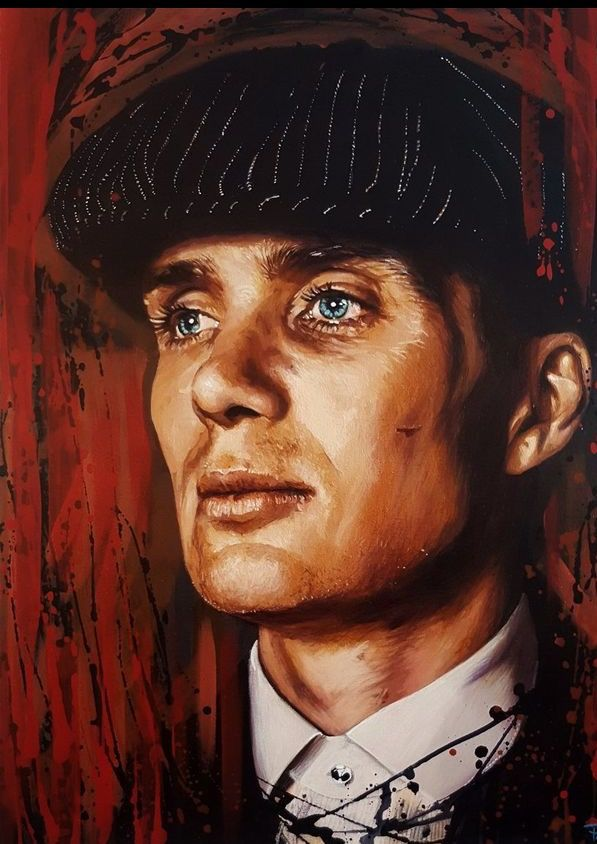 Tommy Shelby Sketch Peaky Blinders Poster Peaky Blinders Tommy Shelby Peaky Blinders