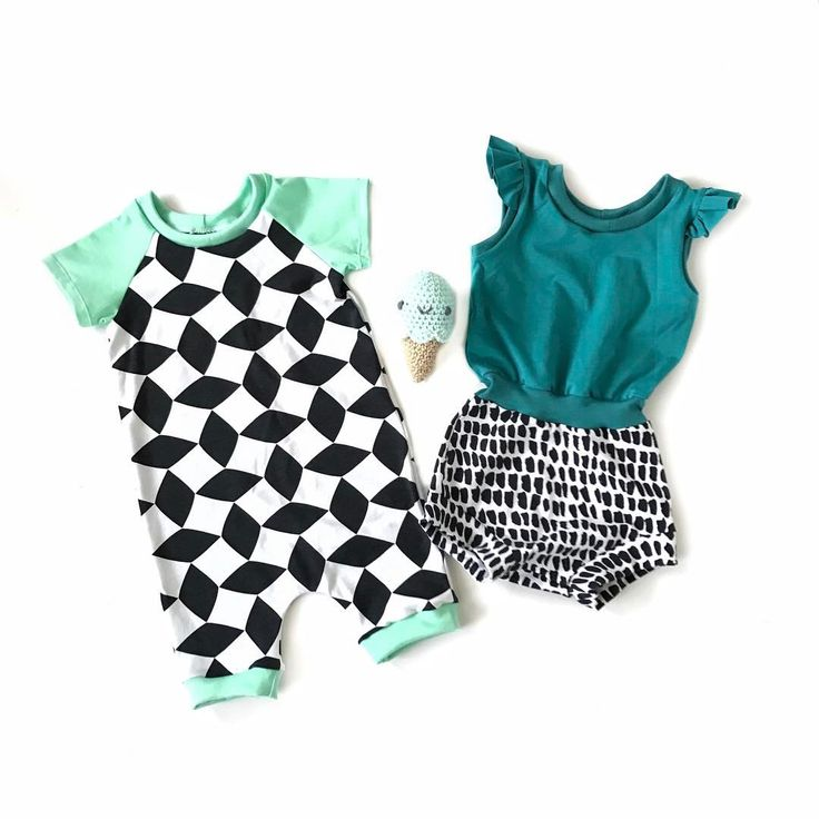 """365 Likes, 74 Comments - Be Loved Handmade (@shopbe.loved) on Instagram: """"Monochrome + colour pops (mint + petrol) list raglan romper style for next pre-order? Happy Sunday…"""""""