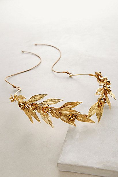 Leaf Halo Headband #anthropologie