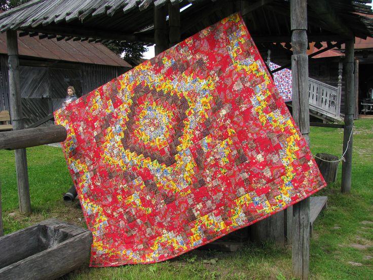 одеяло лето красное