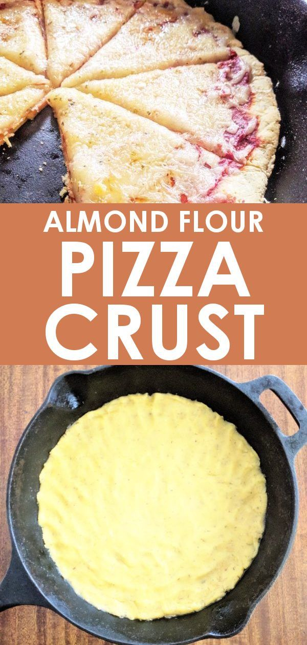 Almond Flour Pizza Crust Recipe Dairy Free Pizza Almond Flour