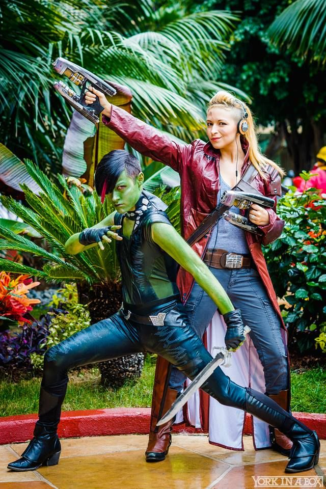 Rule 63- Gamora and StarLord