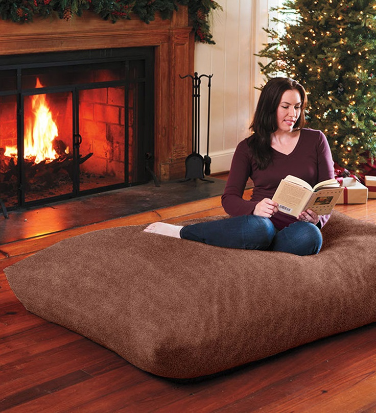Oversized Floor Pillow For Bonus Room I Love