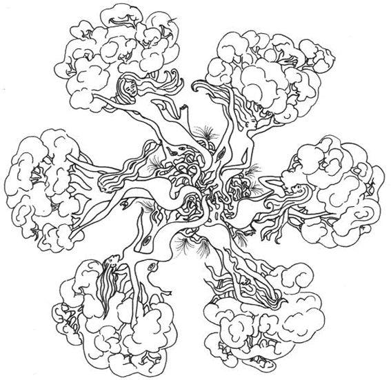 Mandala colorier arbre mandala gratuit t l charger - Telecharger coloriage a imprimer ...