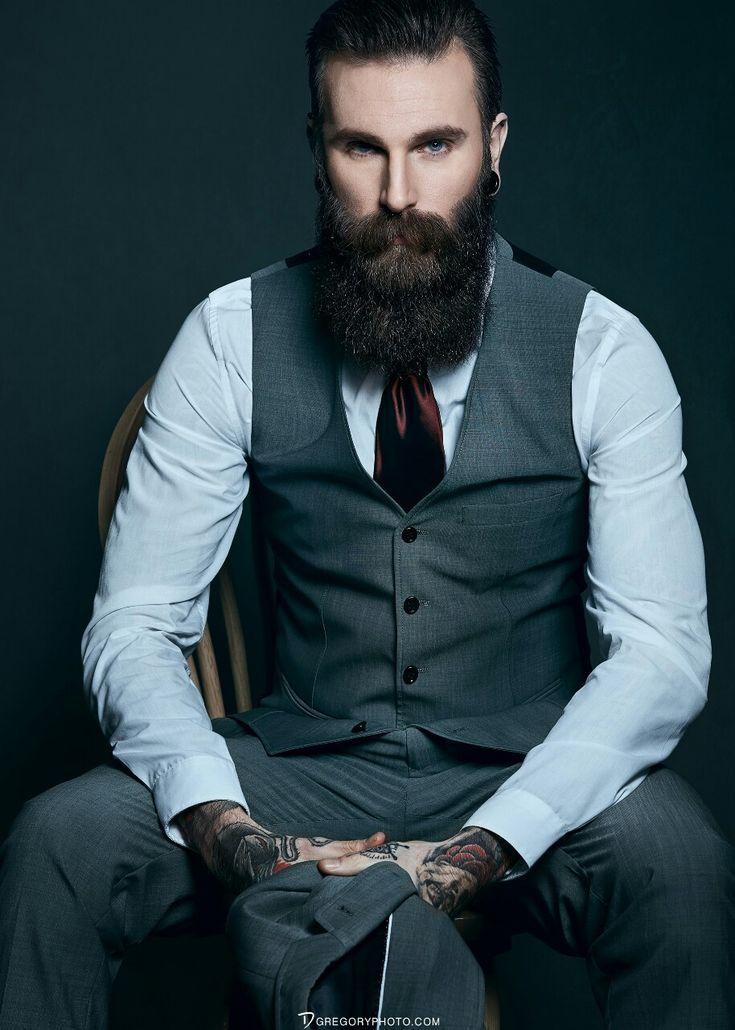 Admirable 1000 Ideas About Beard Suit On Pinterest Beards Menswear And Short Hairstyles Gunalazisus